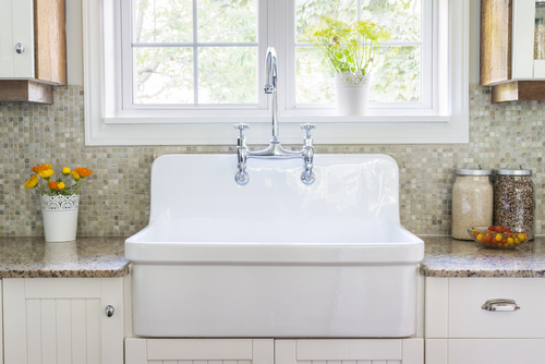 maintain or replace a faucet or sink