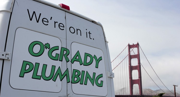We're on it. O'Grady Plumbing.